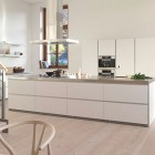 Modern Loft Style Kitchen Birchwood Floors Design