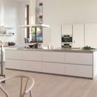 Modern Loft Style Kitchen Birchwood Floors Design
