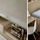 Modern Mac Desk Bed Storage