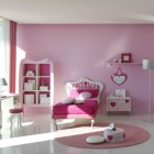 Modern Pink Bedroom For Teenager