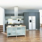 Modern Remmp German Blue Kitchen Design