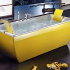Modern Teen Yellow Bathtub by BluBleu