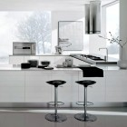 Modern White and Chrome Kitchen Inspiration