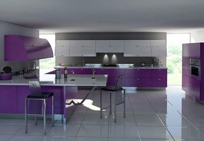 Best purple kitchen design ideas kitchen design ideas for Best kitchen designs 2011