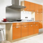 Moderna Gloss Orange Kitchen Design