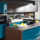 Modula Blue Kitchen Decoration Ideas