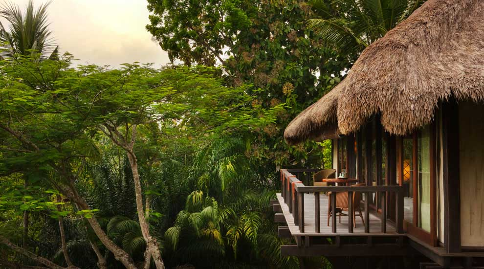 The best spa in the world como shambhala resort in bali for Natural terrace