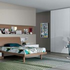 Neutral Contemporary Teenagers Room Design Ideas