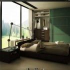 October Desktop Bringing the Outdoors Into a Modern Bedroom by rw4n