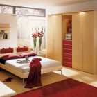 Red Classy Bedroom Design Ideas From Hulsta