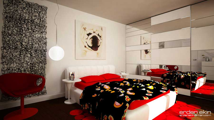 Black And Red Bedroom Design Ideas Modern Diy Art Design