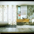 Semi Natural Z Bathroom by Artzen