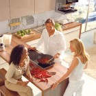 Shining Brown Color Kitchen Ispiration Ideas