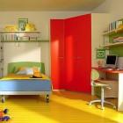 Shining Full Color Kids Room Design Ideas