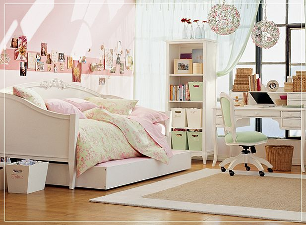 Shining rooms for girls with white bunk beds interior design ideas - Beautiful bunk bed teens ...