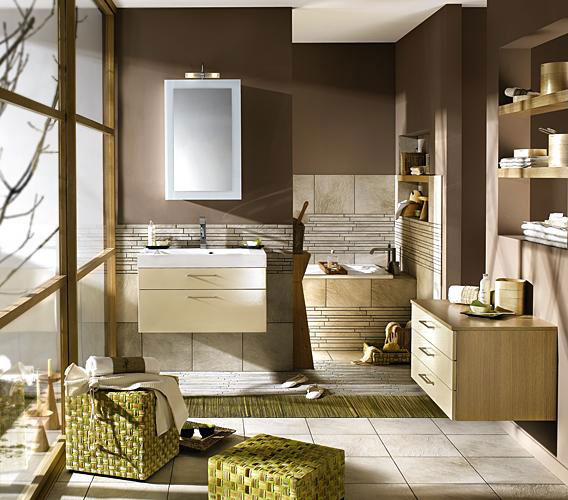 Shining and Modern Bathroom Design from Delpha