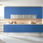 Simple Blue Modular Kitchen Inspirations