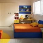 Simple Full Color Kids Room Design Ideas
