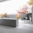 Simple Modern Bathroom Semi Outdor from Rexa