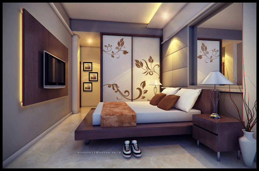 Cool Bedroom Walls That Pack A Creative Punch Bedroom Design Ideas
