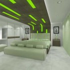 Siper Cool Green Bedroom by Robi Hartono