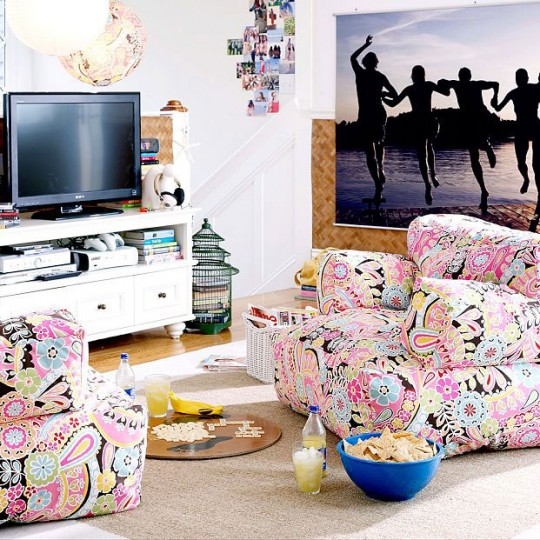 Stylish Dorm Rooms 2011