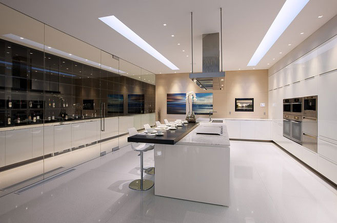 Super Luxury Kitchen Glass Pavilion