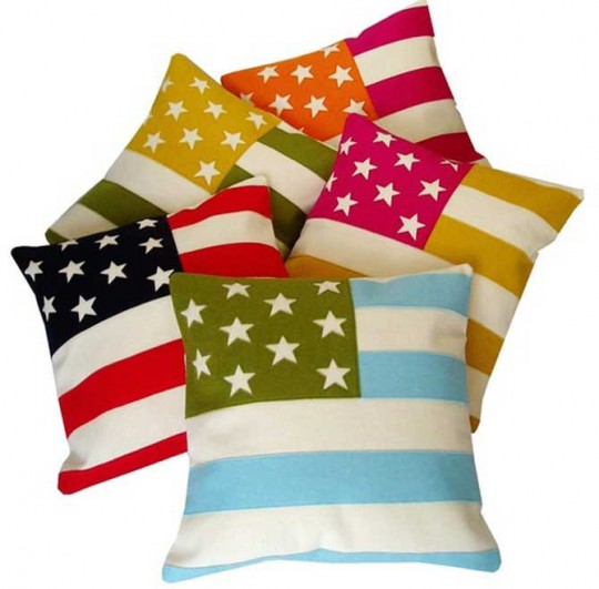 Teenager American Flag Pillow Ideas
