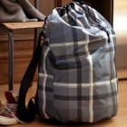 Teenger Plaid Laundry Backpack Design Ideas