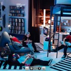 Top Design Cool and Blue Room From IKEA