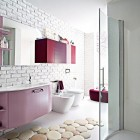 Top Design Modern Bathroom Accent Wall