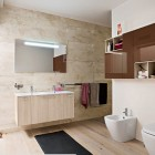 Top Design Modern Bathroom Shelf Designs