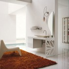 Top Design Modern Bathroom with Rug and Chair