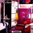 Top Design Pink Dorm Room From IKEA