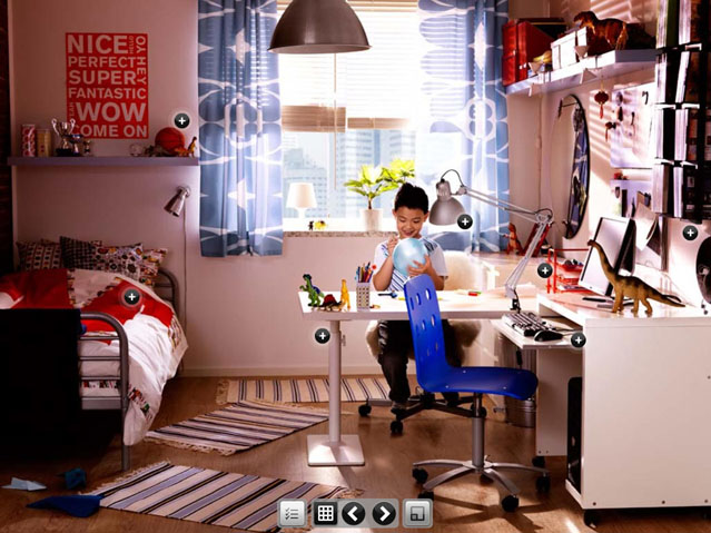 Top Design The Little Boys Room From IKEA Interior Design Ideas