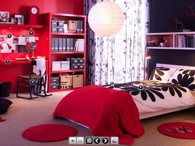 Top Design Trendy Dorm Room From IKEA