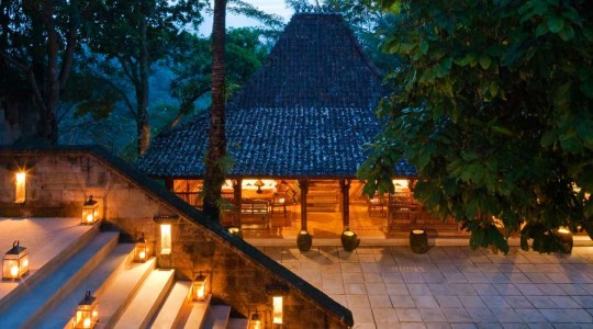 Tranditional and Cultural Design Como Shambhala Resort