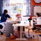 Twin Bunkbeds IKEA Teen Room with Study Table