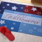 Unique American Doormat Design