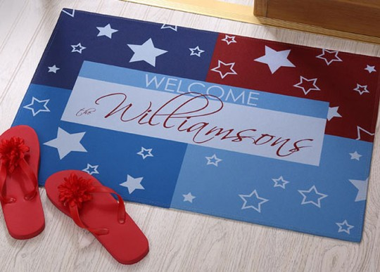 Unique American Doormat Design