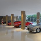Vintage Car Collection Glass Pavilion