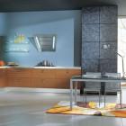 Vitalo Cucine Blue Kitchen Color Combination