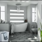 White Bathroom by Basaran