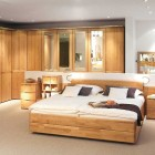 Wood Finish Bedroom Design Ideas From Hulsta