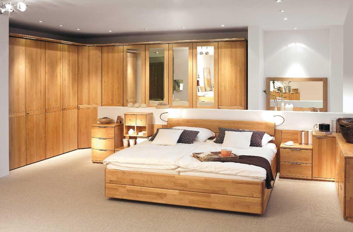 Wood Finish Bedroom Design Ideas From Hulsta