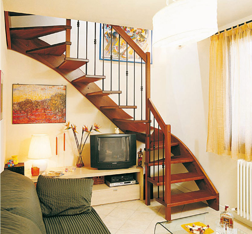 Beautiful Stairs Design From Scale Nilur