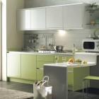 Green Kitchen Full Set Design