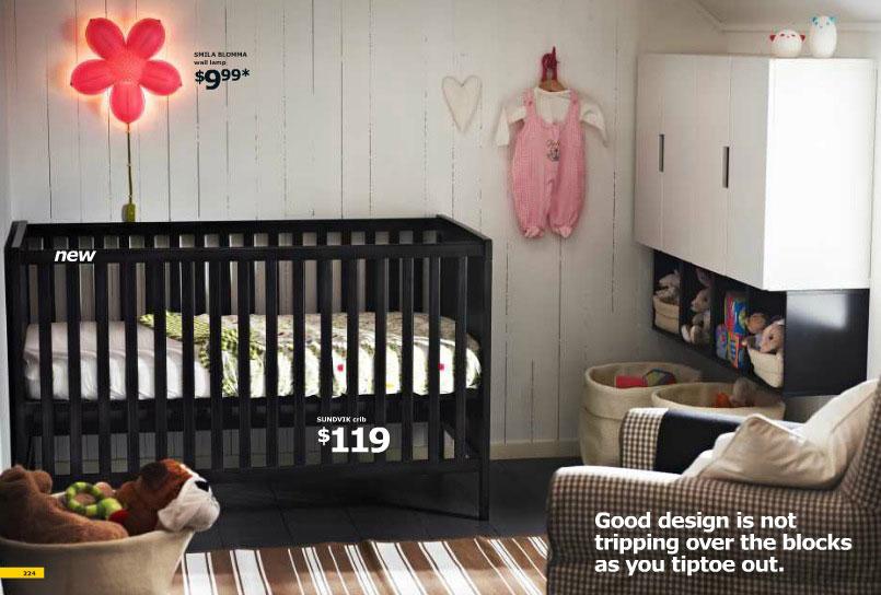 2012 Ikea Baby Room Design