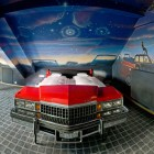 Awesome V8 Bedroom Hotel with Red Car Bed