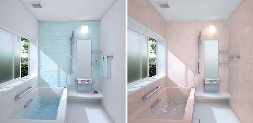 Small but spacious bathtubs for tight spaces bathroom for Beautiful small bathrooms